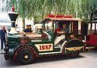 Buy cheap 40 Persons Super Amusement Train Rides with 14.2 Train Length for Disney Theme Park from wholesalers