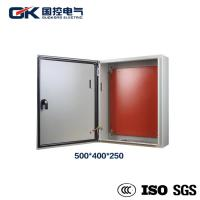 Buy cheap Weatherproof Low Voltage Power Distribution Box Durable Wall Mounted Steel Sheet from wholesalers