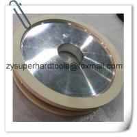 Buy cheap Double Cup vitrified Bond Diamond Grinding Wheels for surface grinding from wholesalers