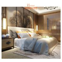 Buy cheap Hardwood + Plywood Hotel Queen Size Furniture in Beds , Bedroom Set , Headboard from wholesalers