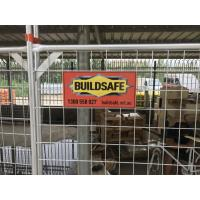 Buy cheap As4687 Approved 2100mm X 2400mm Temporary steel fence Panels from wholesalers