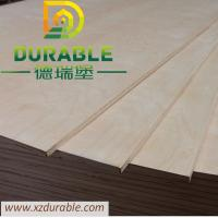 Buy cheap Durable Cheap  price high quality  white birch plywood with E1 glue plywood standard size 1220X2440X9MM D/E E2 Glue from wholesalers