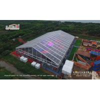Buy cheap Transparent Aluminum Alloy Frame Large Event Canopy For Wedding Party With Roof Lining from wholesalers