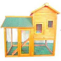 Buy cheap Top selling wooden animal house with large run from wholesalers