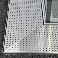 Buy cheap Perforated Metal Grating Made by Stainless Steel for Constructions from wholesalers
