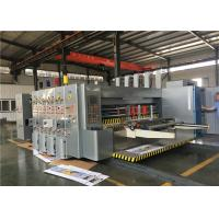 Buy cheap Planetary Gear Structure Flexo Printer Slotter / Carton Box Packing Machine from wholesalers
