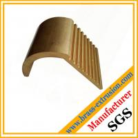 Buy cheap C38500 CuZn39Pb3  CuZn39Pb2 CW612N C37700 copper alloy bronze extrusion profile section with teeth from wholesalers