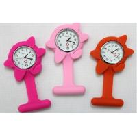 Buy cheap Silicone Wristband Watch flower nurse watch, doctor watch silicon watch from wholesalers