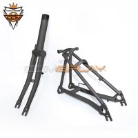 Buy cheap Raw Color Brompton Titanium Parts Titanium Alloy Ultra Light Fork Rear Triangle from wholesalers