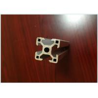 Buy cheap 6063 T5 Black Anodized Aluminum Extrusions for Aluminum T - Slotted Frame 40 X 40mm from wholesalers