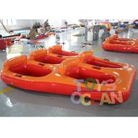 Buy cheap 5 Person Donut Boat Inflatable Water Towable Tube Ski Boat For Jet Ski Water Fun from wholesalers