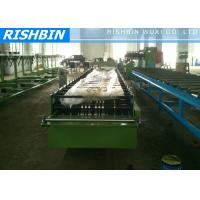 Buy cheap Steel Eaves Trim Roof Panel Roll Forming Machinery 1.5 Inch Chains from wholesalers