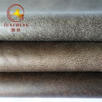 Buy cheap 2018 New wholesale embossed velvet fabric with fleece backing from wholesalers