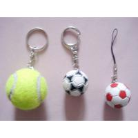Colorful Embossed Custom PVC Keychains For Company Advertisement