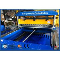 Buy cheap Glazed Molding Roof Roll Forming Machine / Concrete Wall Tile Making Machine With CE ISO Certificate from wholesalers