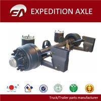 Buy cheap 9T 12T Germany type round tube semi-trailer air suspension axle from wholesalers
