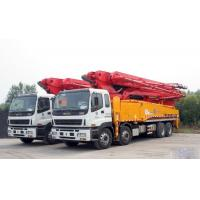 Buy cheap Energy Saving Concrete Pump Truck Automatic Control 48m Boom ISO CCC from wholesalers