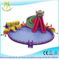 Buy cheap Hansel Giant Inflatable Floating Water Park , Inflatable Water Games For Adults from wholesalers