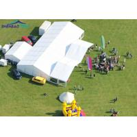 Buy cheap Luxury Marquee Party Tent Hard Pressed Extruded Aluminum 6061 / T6 Frame 850g / Sqm from wholesalers