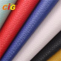 Buy cheap Customized Fashio PU PVC Synthetic Leather for Sofa / Car Seat / Furniture Upholstery product