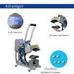 Buy cheap CE RoHS 110 V Combo Heat Press Machine 50 - 60 HZ 500 Watt For Modern DIY Cap / Hat from wholesalers