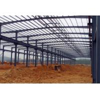 Buy cheap Waterproof Structural Steel Plant , Industrial Steel Structure Building With Memory Calculation product