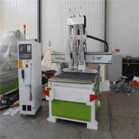 Buy cheap XY Axis 3D Woodworking CNC Machine , Wood Design Cutting Machine 18kw from wholesalers