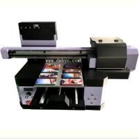 Buy cheap 2019 Commercial A3 UV Pen Printer Flatbed Ceramic Tile Inkjet Printing Machine Factory Support from wholesalers