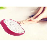 Buy cheap Manual Pedicure File Nail Art Cleaning Brushes In Pink , White , Black , Rose Red from wholesalers