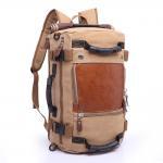 Buy cheap Stylish Travel Large Capacity Backpack Male Messenger Shoulder Bag Computer Backpack Men Multifunctional Versatile Bag from wholesalers