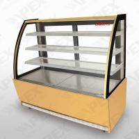 Buy cheap Three Shelf Stainless Steel Pastry Chiller Cake Display Fridge For Supermarket from wholesalers