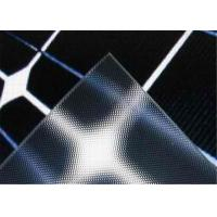 Buy cheap Heat Absorbing Tempered Solar Glass 3.2mm / 4 mm Thickness With High Solar Transmittance from wholesalers