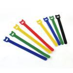Buy cheap Industrial Adjustable Hook Loop One Wrap Cable Ties , Back To Back Hook Loop Tape ties from wholesalers