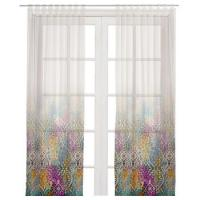 China Big flower printed curtain best price shower beautiful custom on sale