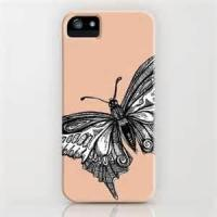 Buy cheap Antidusting durable Non - toxic butterfly Hard plastic case Apple iPhone Protective Cases for lady product