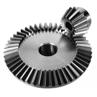 Buy cheap Angular Straight 42CrMO Module 1 Steel Bevel Gears from wholesalers