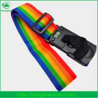 Buy cheap China wholesale 40kg weighing scale digital lock rainbow travel luggage belt from wholesalers