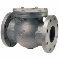 Buy cheap Iron Casting ANSI End Flange Water Non Return Disc Swing Check Valve product
