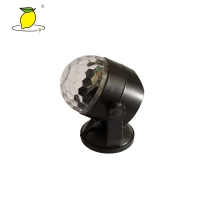 Buy cheap USB Bluetooth Music RGB Black Disco Ball Light For Home Party from wholesalers