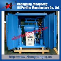 Buy cheap 10KV to 110KV Transformer Oil Purifier Machine, Dielectric Oil Filtering Unit from wholesalers
