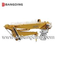 Buy cheap Hydraulic Knuckle Boom Marine Deck Crane for loading and unloading ship port use from wholesalers
