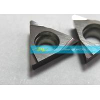 Buy cheap Finishing Cemented CTCMT Carbide Inserts TCMT16T304PF , Circle Carbide Inserts from wholesalers