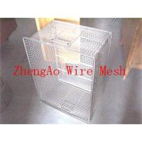 Buy cheap stainless steel disinfection washing baskets from wholesalers