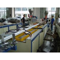 22KW Motor Power PVC Profile Extrusion Line , UPVC Door And Window Making Machine