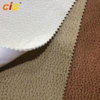 Buy cheap Heat - Insulation Blackout Shrink - Resistant Embossed Suede Fabric For Upholstery / Luggage product