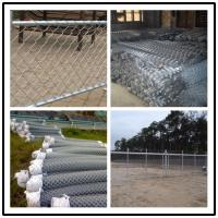 Buy cheap 2.5 inch x 6ft or 3ft Black vinyl coated chain link fencing from wholesalers
