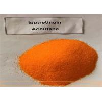 Buy cheap Accutane Yellow Isotretinoin Powder CAS 4759-48-2 99.5% Assay Treating Severe Acne from wholesalers