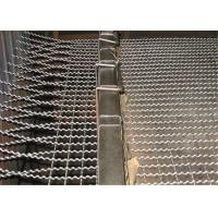 Buy cheap Stainless Steel / Galvanized Crimped Wire Mesh Rectangular Opening for Pig Feeding from wholesalers
