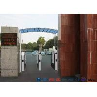 Buy cheap Vistor Management System Speed Gate Turnstile with Stainless Steel Used at Governmental Building from wholesalers