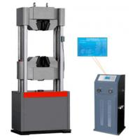 Buy cheap Liquid Crystal Servo Hydraulic Testing Machine 100KN Max Load Capacity product
